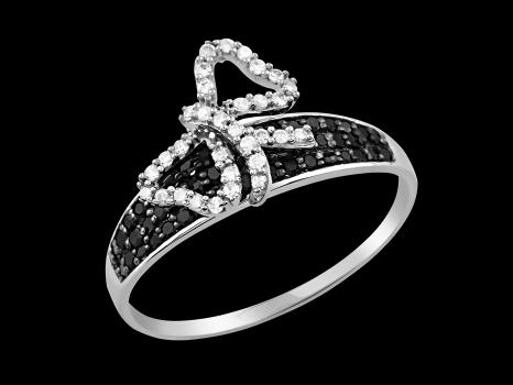 Bague Innocence - Argent 925 et diamants 0.35 carat