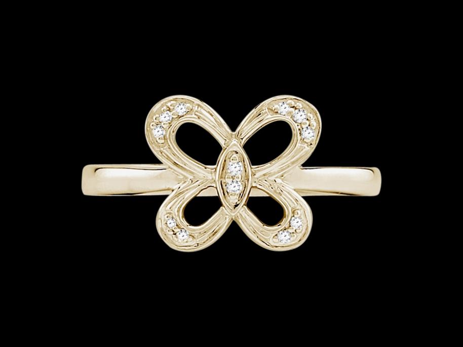 bague so free or jaune 18 carats et diamants 0 05 carat taille 48. Black Bedroom Furniture Sets. Home Design Ideas