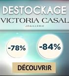Destockage exceptionnel Victoria Casal